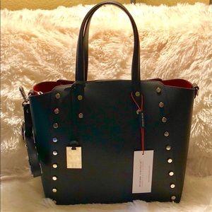 ANDREA CARDONE Leather Italian Handbag